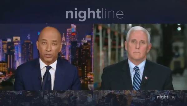 Disgusting! ABC Host Asks Pence: Do You Talk To God About The People Who Die Because Of Your Inaction? (VIDEO)