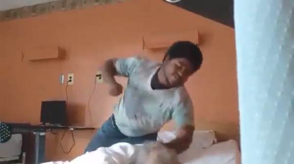 SECOND VIDEO: 20-Yr-Old Boxer with Coronavirus Sent to Michigan Nursing Home LAST WEEK — Filmed 2nd Beating on Old White Patient — Was Still There When Cops Came a Week Later