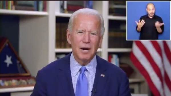 Biden Is A Demented Old Swamp Monster - cover