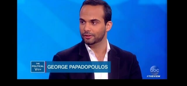 Transcript Published of FBI Spy's Call with George Papadopoulos Two Weeks Before Election In Attempt to Take Down Trump Campaign