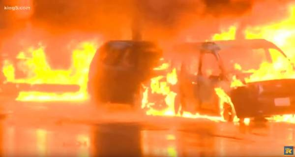 Seattle: Dozens Of Stores Looted, Cop Cars Set On Fire (VIDEO)