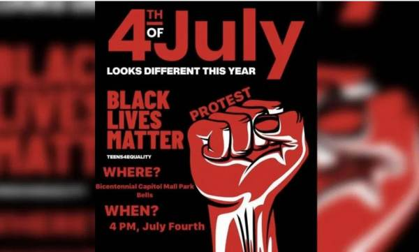 Nashville Mayor Shuts Down 4th of July Celebrations but Allows Black Lives Matter to Protest America on Independence Day