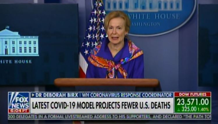 """""""If You Do the Models of the Models"""" – NOW SHE'S CAUGHT AND CONFUSED – March 30 Transcript Reveals Dr. Birx Lied to American Public About IHME Models (VIDEO)"""