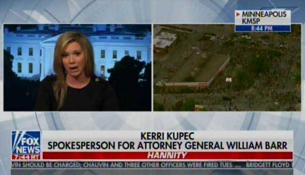 "DOJ Spox Kerri Kupec: DOJ Will Weigh in AGAIN on Flynn Case — And Will Reiterate ""We Believe This Case Should Be Dropped"" (VIDEO)"