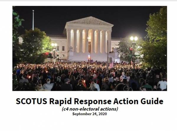 LEAKED Inside Documents show BLUE PRINT of Radical Left's Rapid Response Plan to Disrupt SCOTUS Nomination and Vote